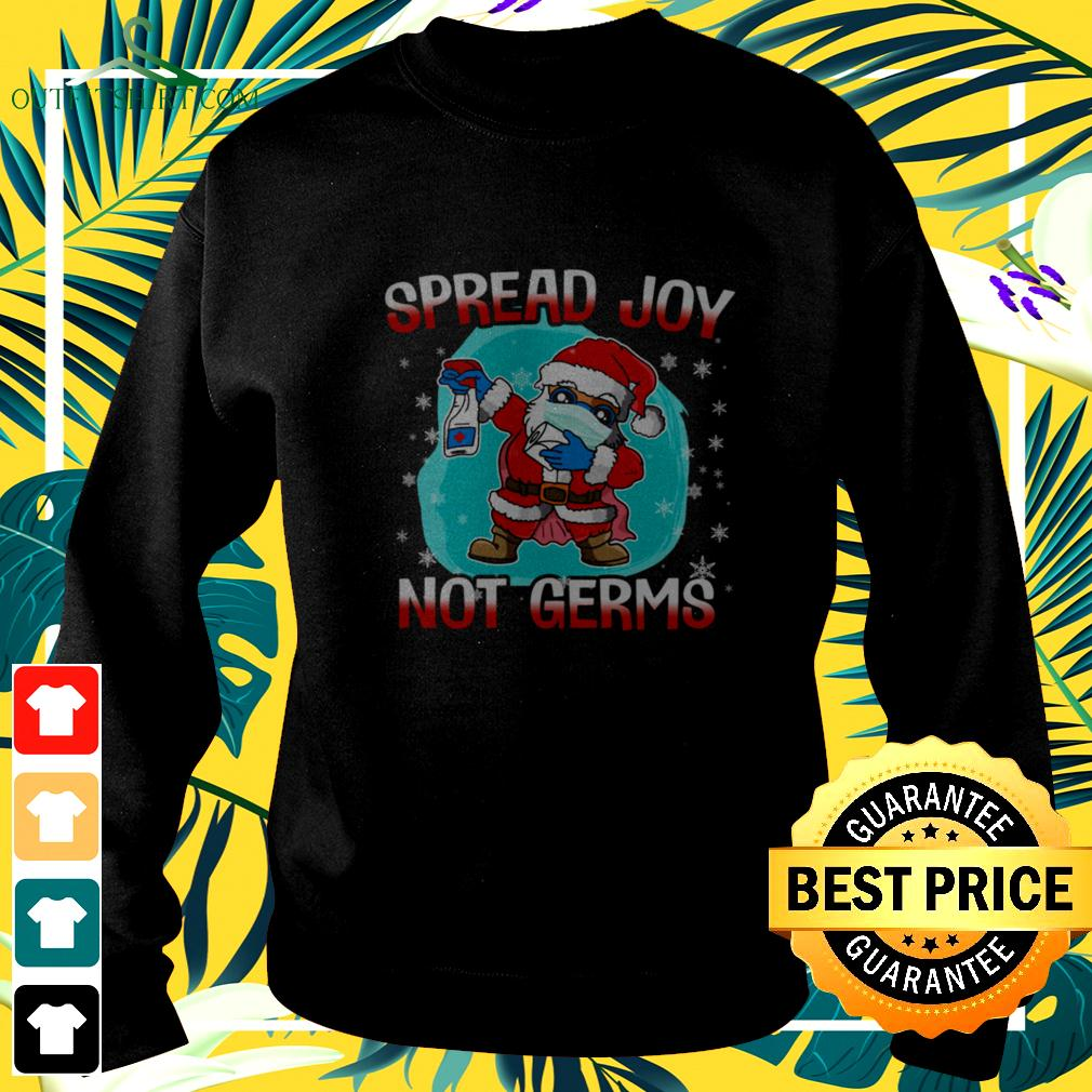 Spread Joy not germs Christmas sweater