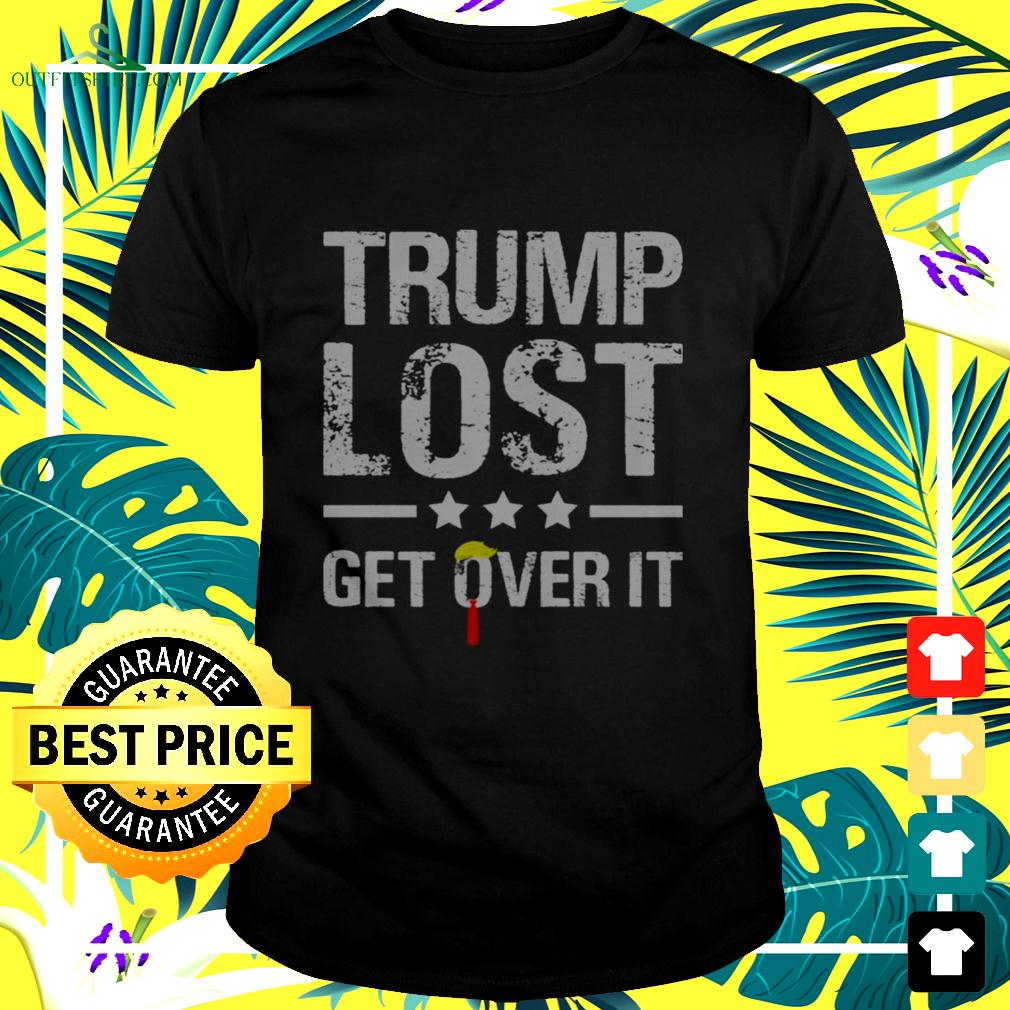 Trump lost get over it t-shirt