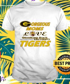 Gorgeous moms love grambling state university Tigers t-shirt