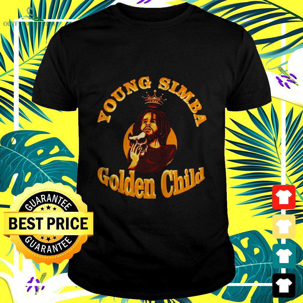 J.Cole young simba golden child t-shirt