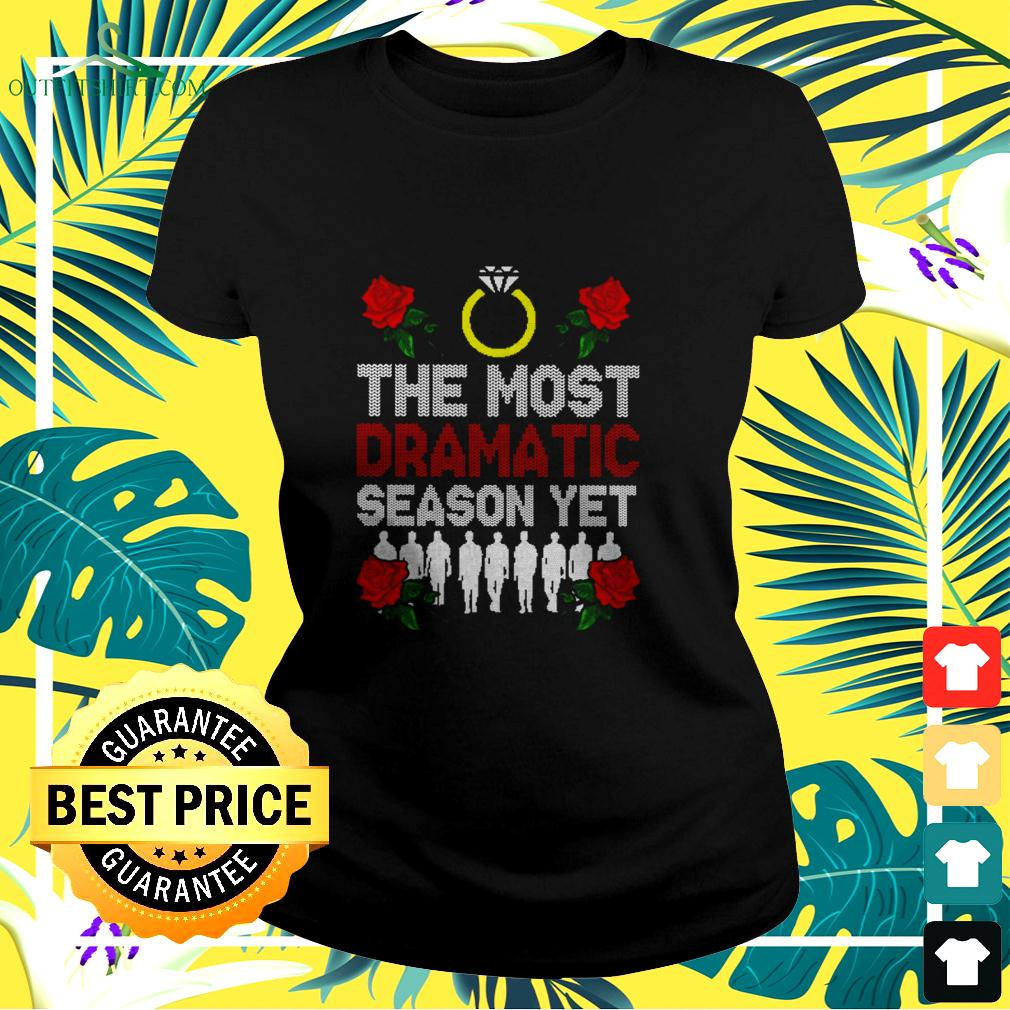 The most dramatic Christmas ladies-tee