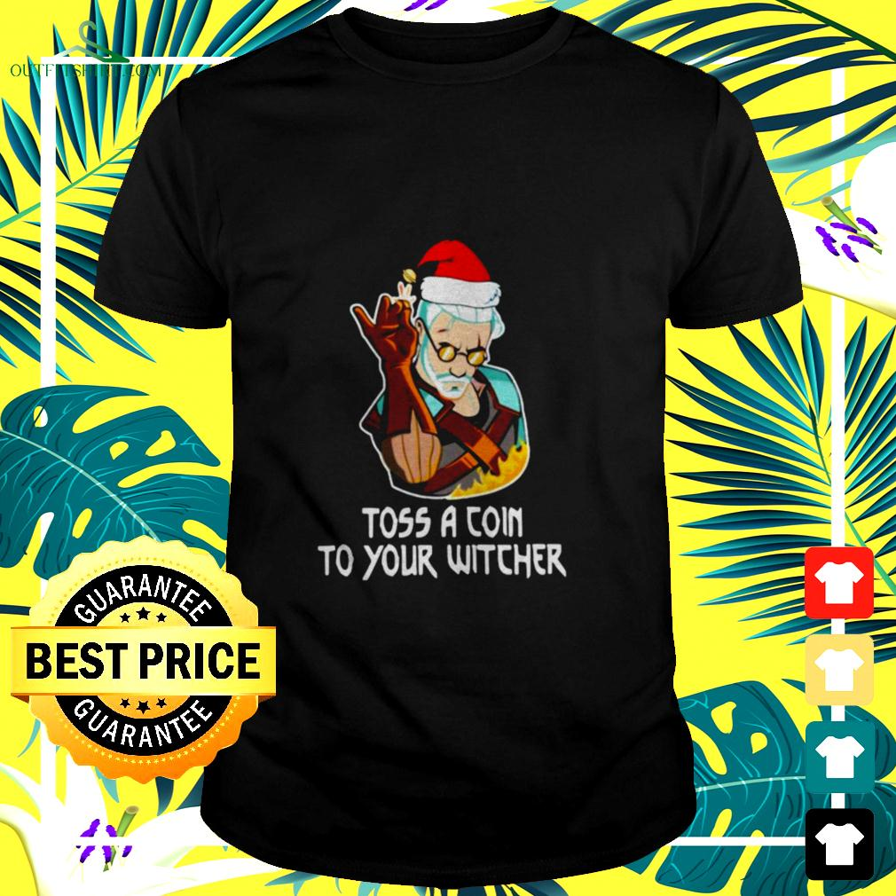 Toss A Coin To Your Witcher Christmas t-shirt