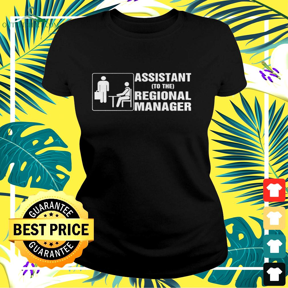 Assistant to the regional manager ladies-tee