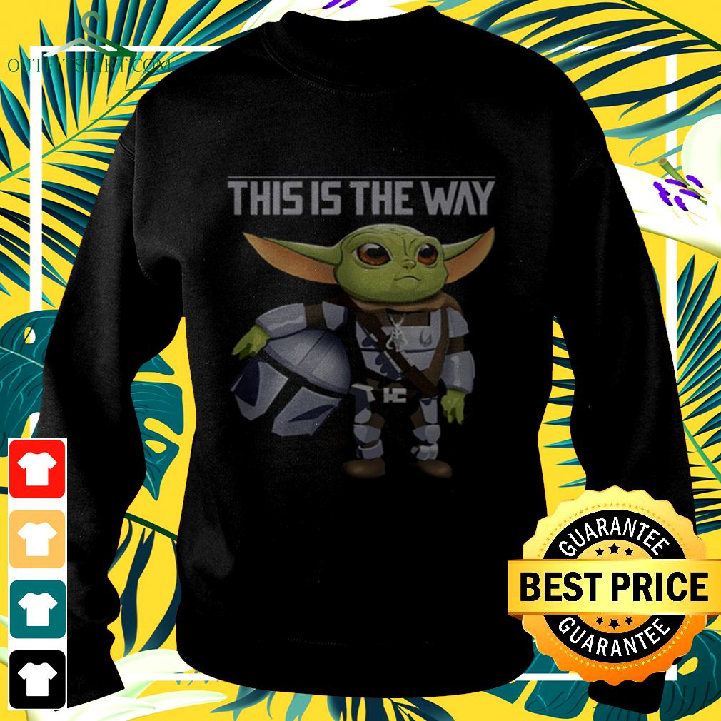 Baby Yoda this is the way sweater