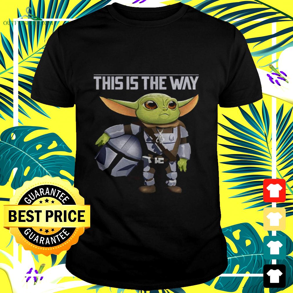 Baby Yoda this is the way t-shirt
