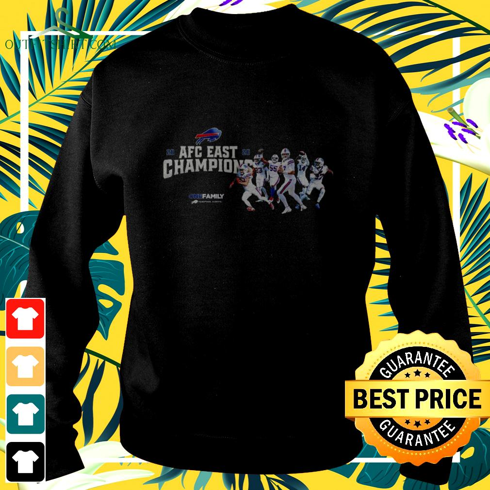 Buffalo Bills 2020 AFC East Champions one family sweater