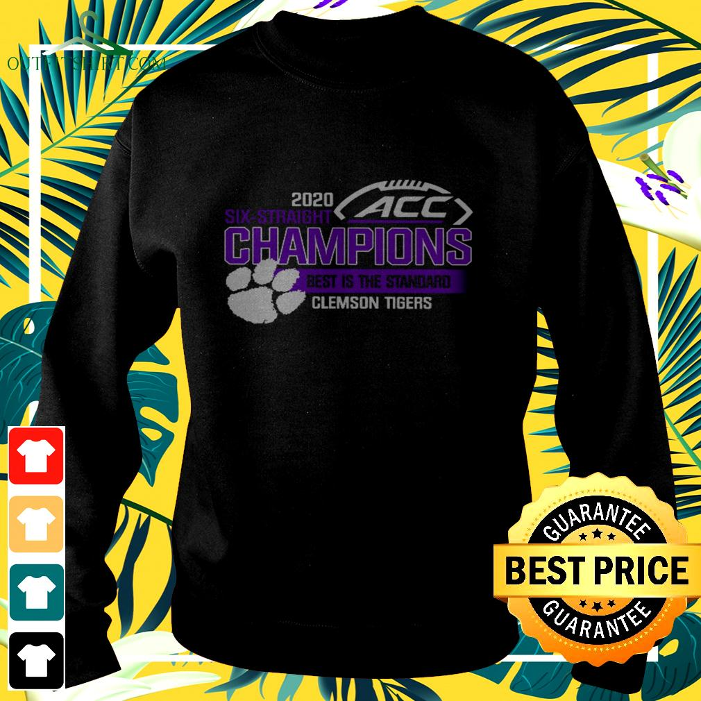 Clemson Tigers ACC championship 2020 six straight champions best is the standard sweater