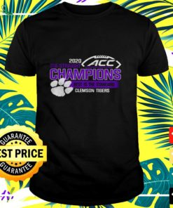 Clemson Tigers ACC championship 2020 six straight champions best is the standard t-shirt