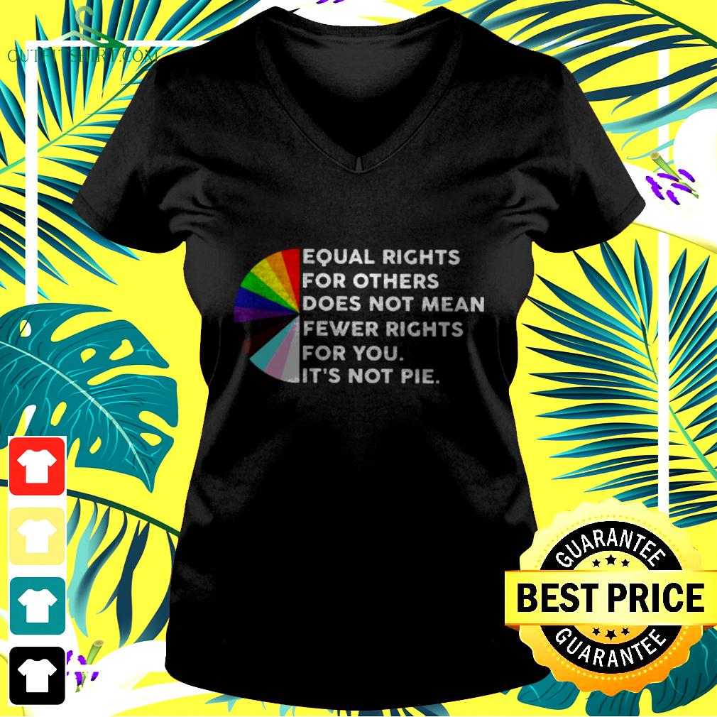 Equal rights for others does not mean fewer rights for you v-neck t-shirt