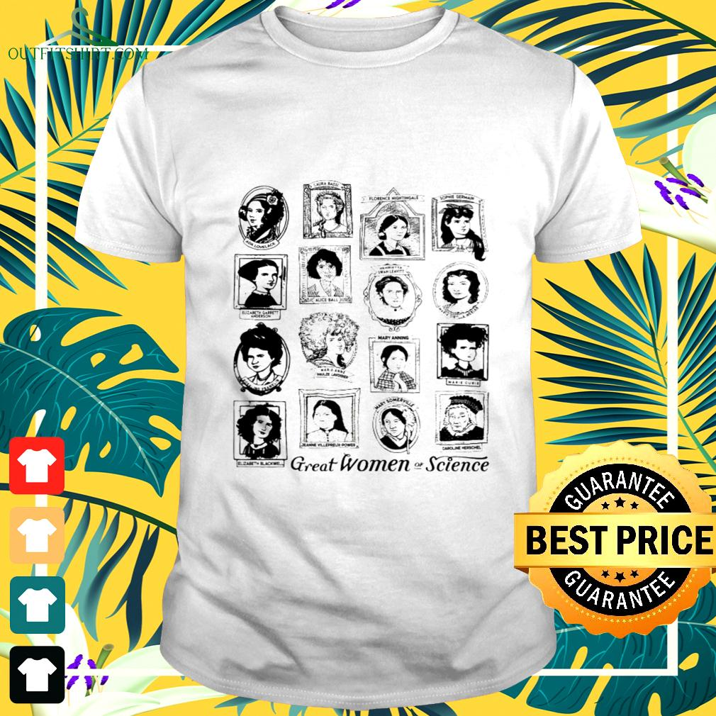 Great women of Science t-shirt