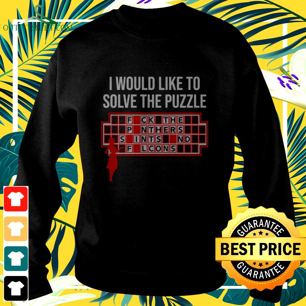 I would like to solve the puzzle sweater