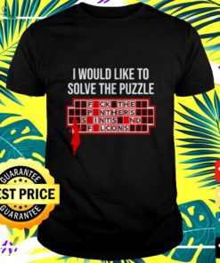 I would like to solve the puzzle t-shirt