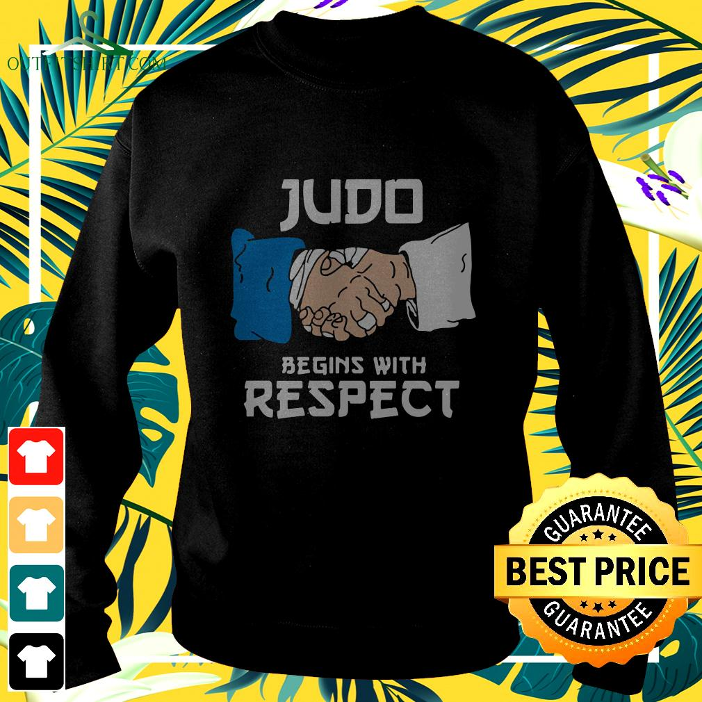 Judo Begins With Respect sweater