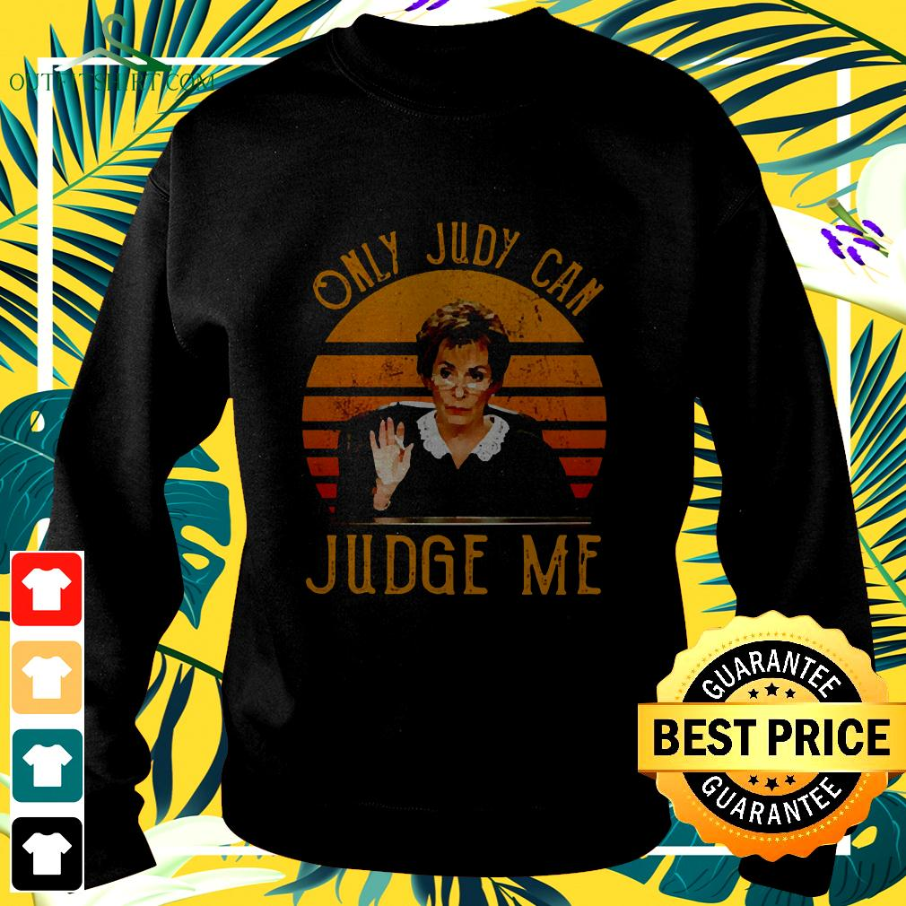 Judy Sheindlin Only Judy Can Judge Me Vintage sweater