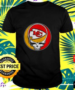 NFL Team Kansas City Chiefs x Grateful Dead logo band t-shirt