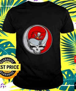 NFL Team Tampa Bay Buccaneers x Grateful Dead logo band t-shirt