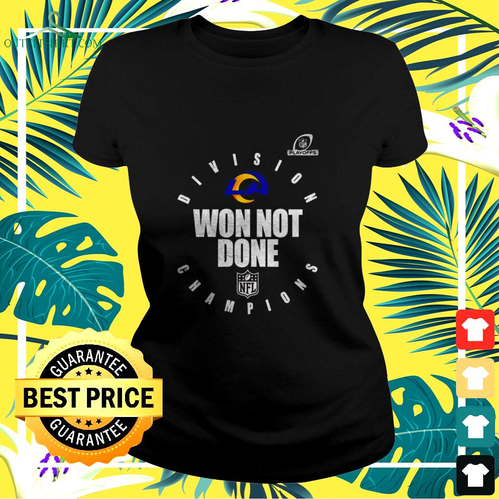 Pittsburgh steelers AFC north champions 2020 won not done ladies-tee