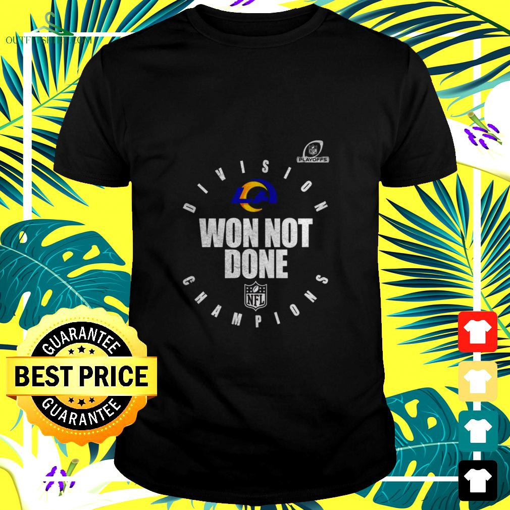 Pittsburgh steelers AFC north champions 2020 won not done t-shirt