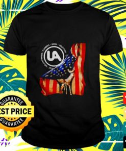 Plumbers Union Pipefitters American Flag t-shirt