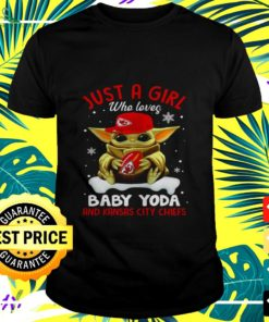 Just a girl who loves Baby Yoda and Kansas City Chiefs t-shirt