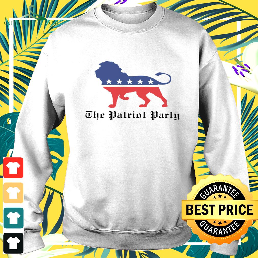 Lions The patriot party American sweater