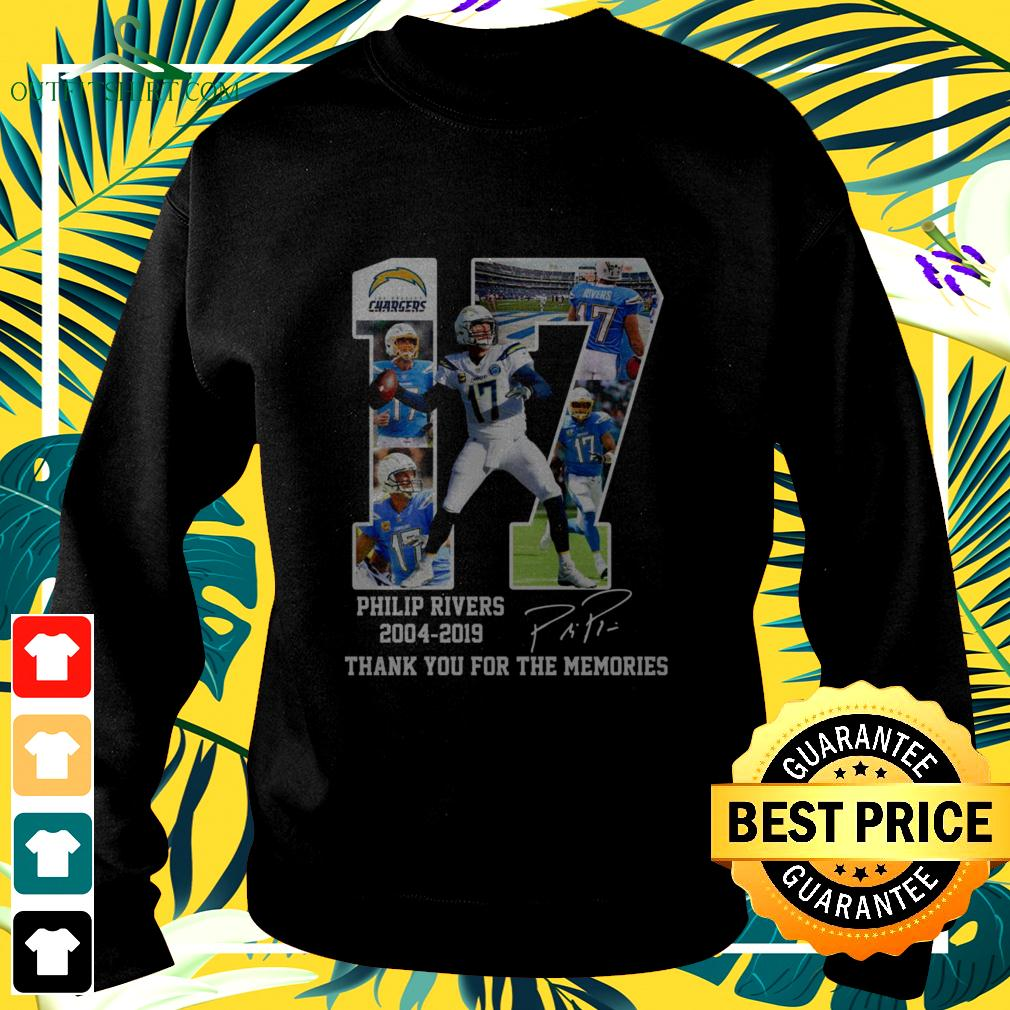 Los Angeles Chargers 17 Philip Rivers 2004 2019 thank you for the memories sweater