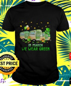St Patrick's Day in March we wear green t-shirt