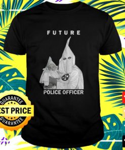 Biggie future police officer t-shirt