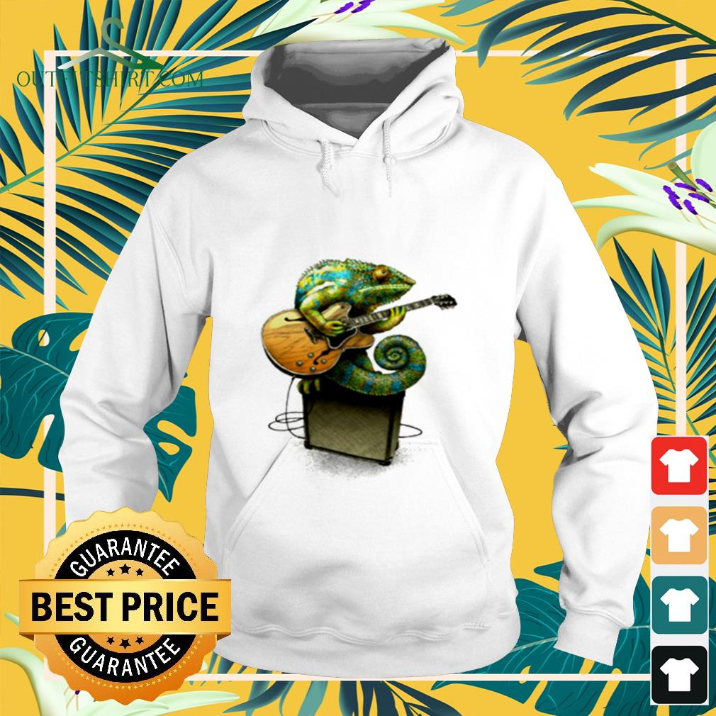 Chameleon plays the blues plus a few other colors hoodie