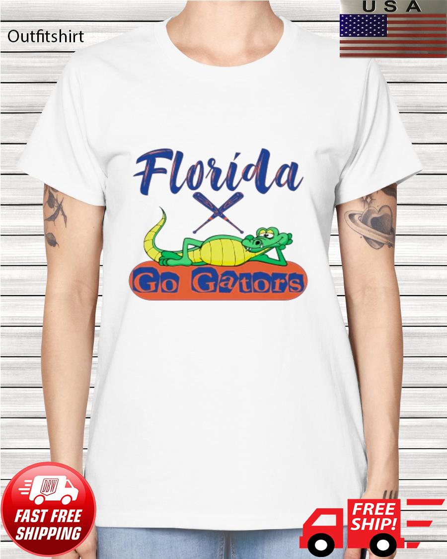 Florida Gator baseball ladies-tee