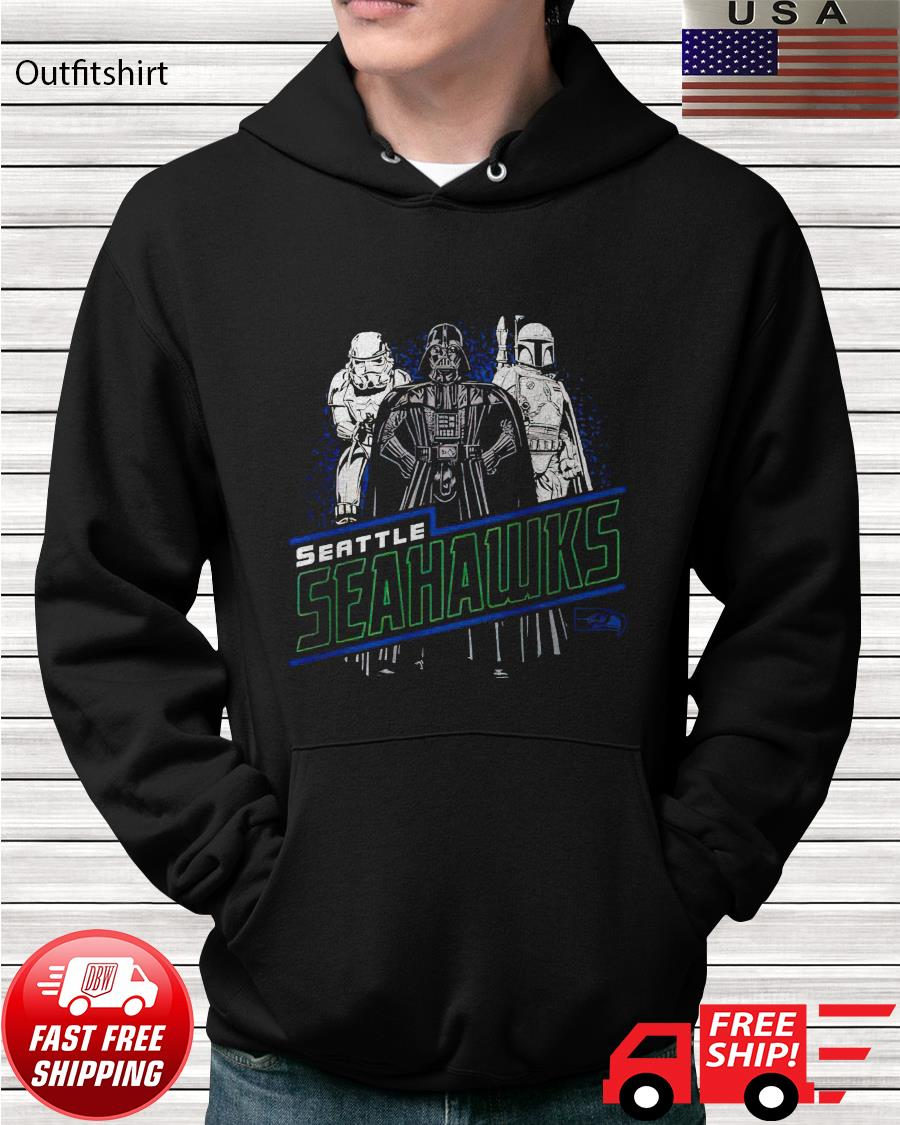 Seattle Seahawks Junk Food Empire Star Wars hoodie