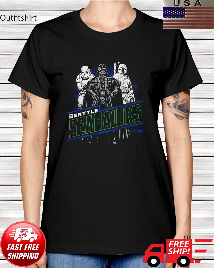 Seattle Seahawks Junk Food Empire Star Wars ladies-tee