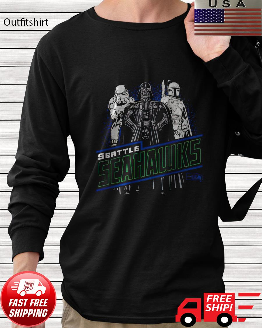 Seattle Seahawks Junk Food Empire Star Wars longsleeve-tee