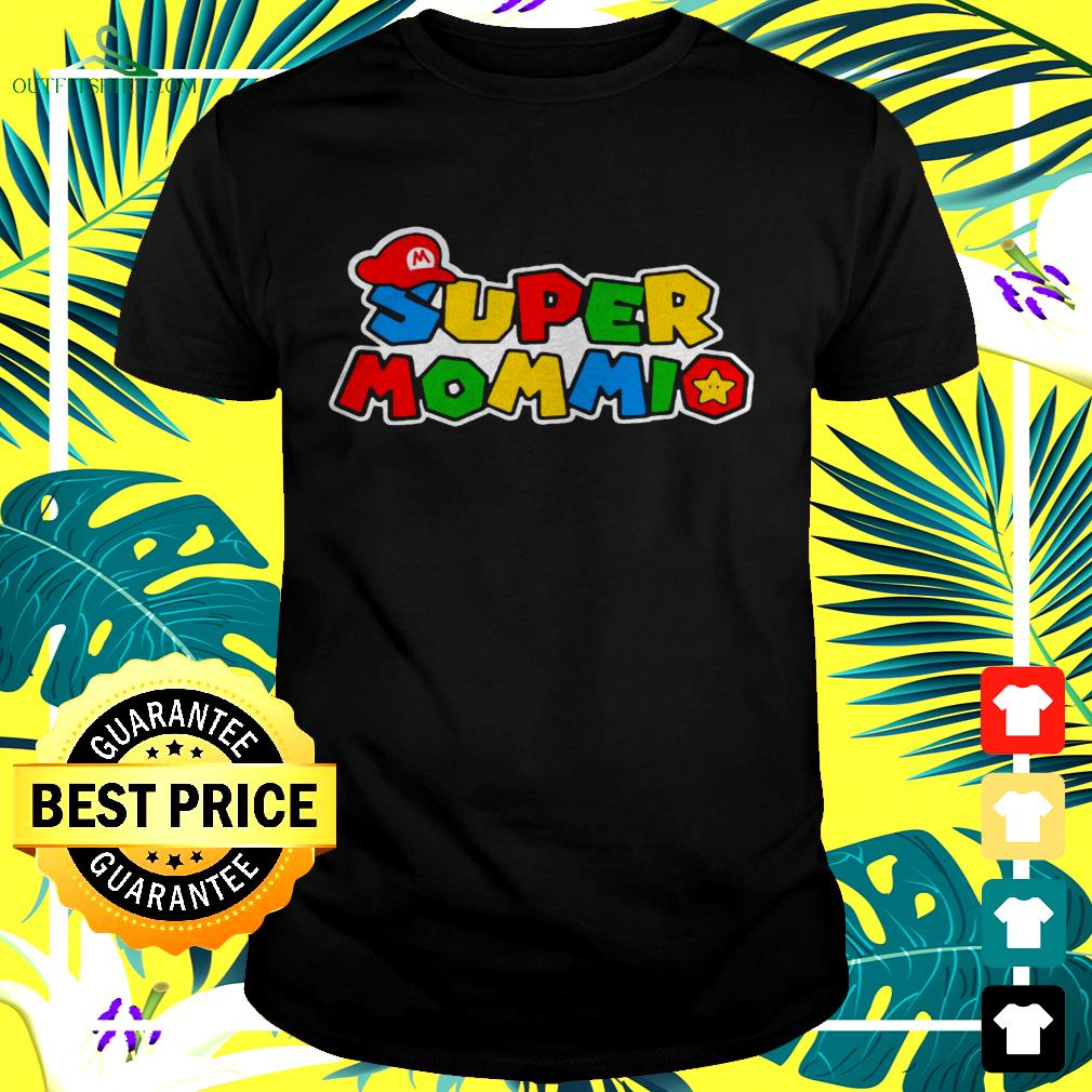 Super Mommio Super Mario game t-shirt