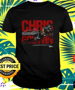 Tampa Bay football Chris Godwin signature t-shirt