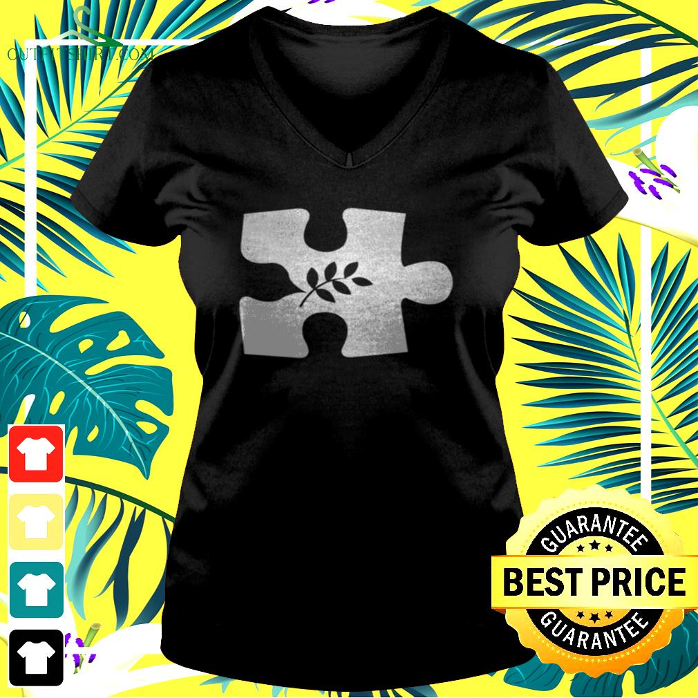 The missing peace v-neck t-shirt