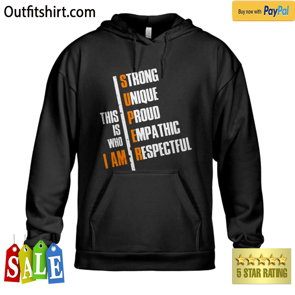 This is who i am hoodie