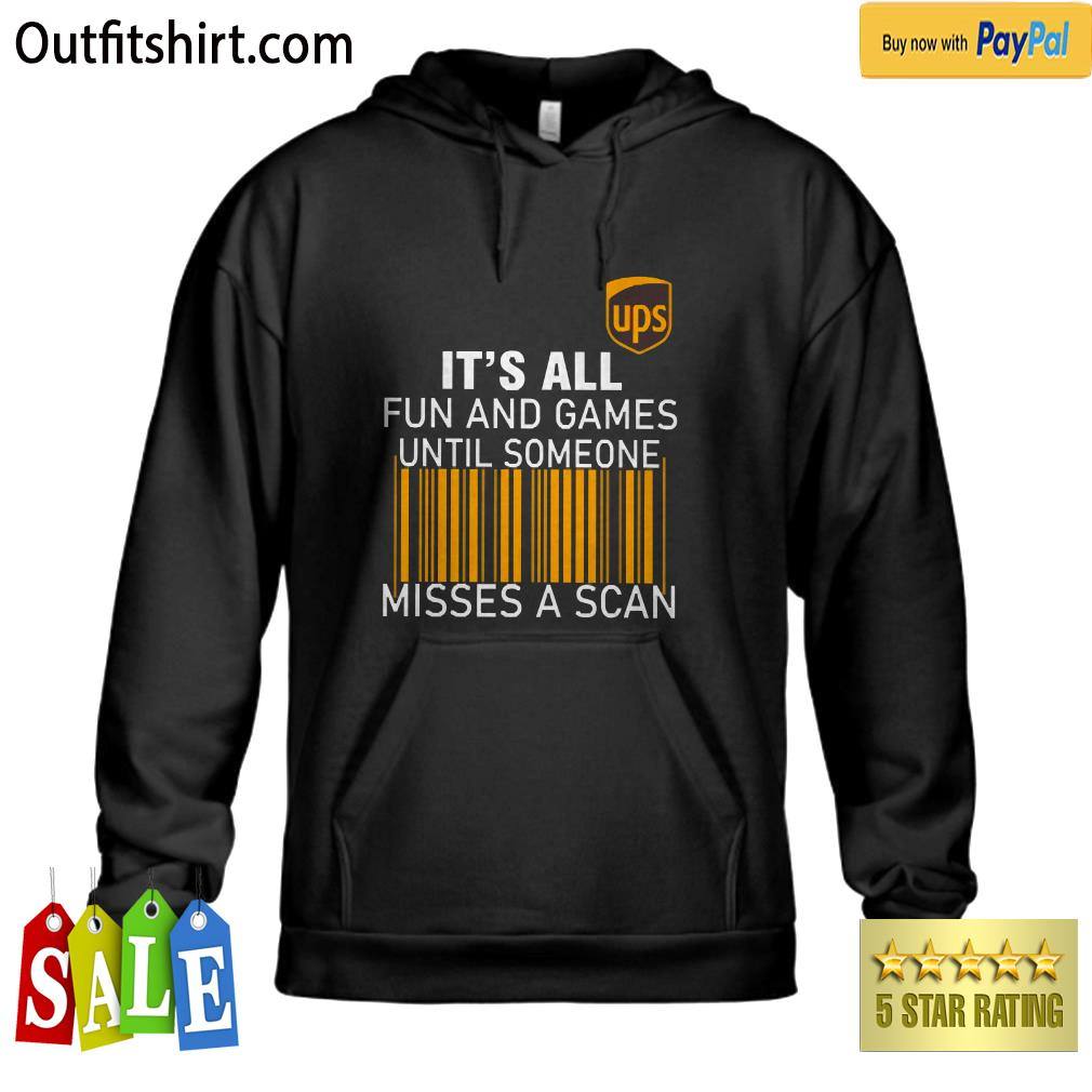 UPS It's all Fun and Games hoodie