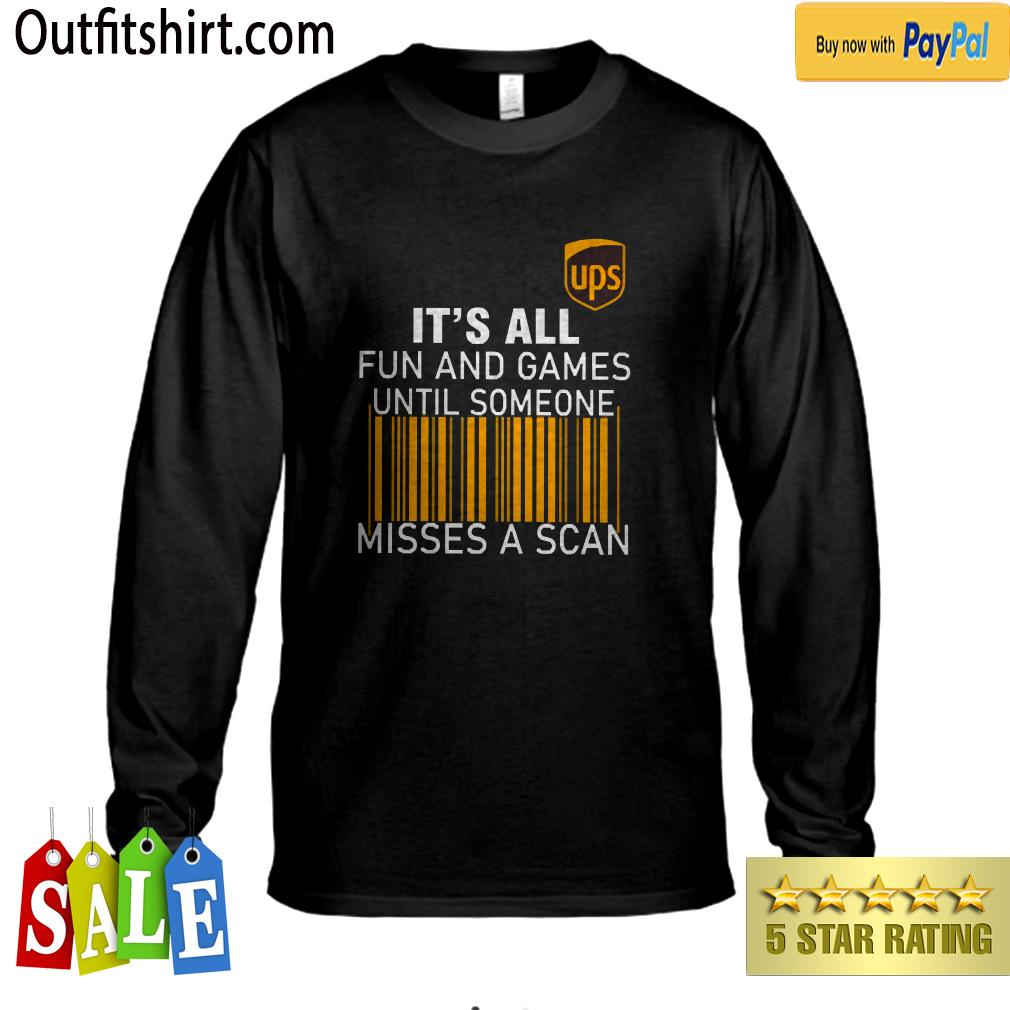 UPS It's all Fun and Games longsleeve-tee