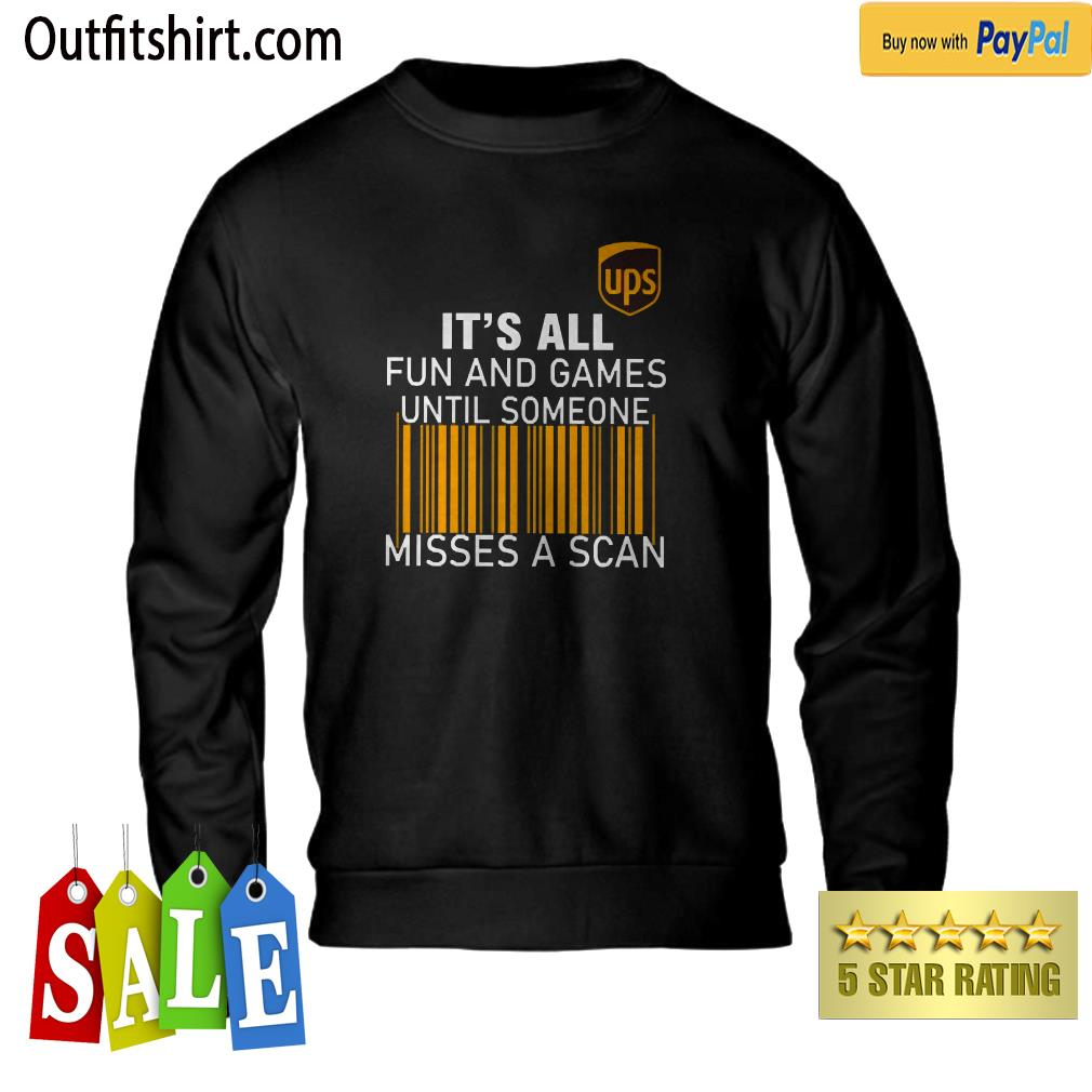 UPS It's all Fun and Games sweater