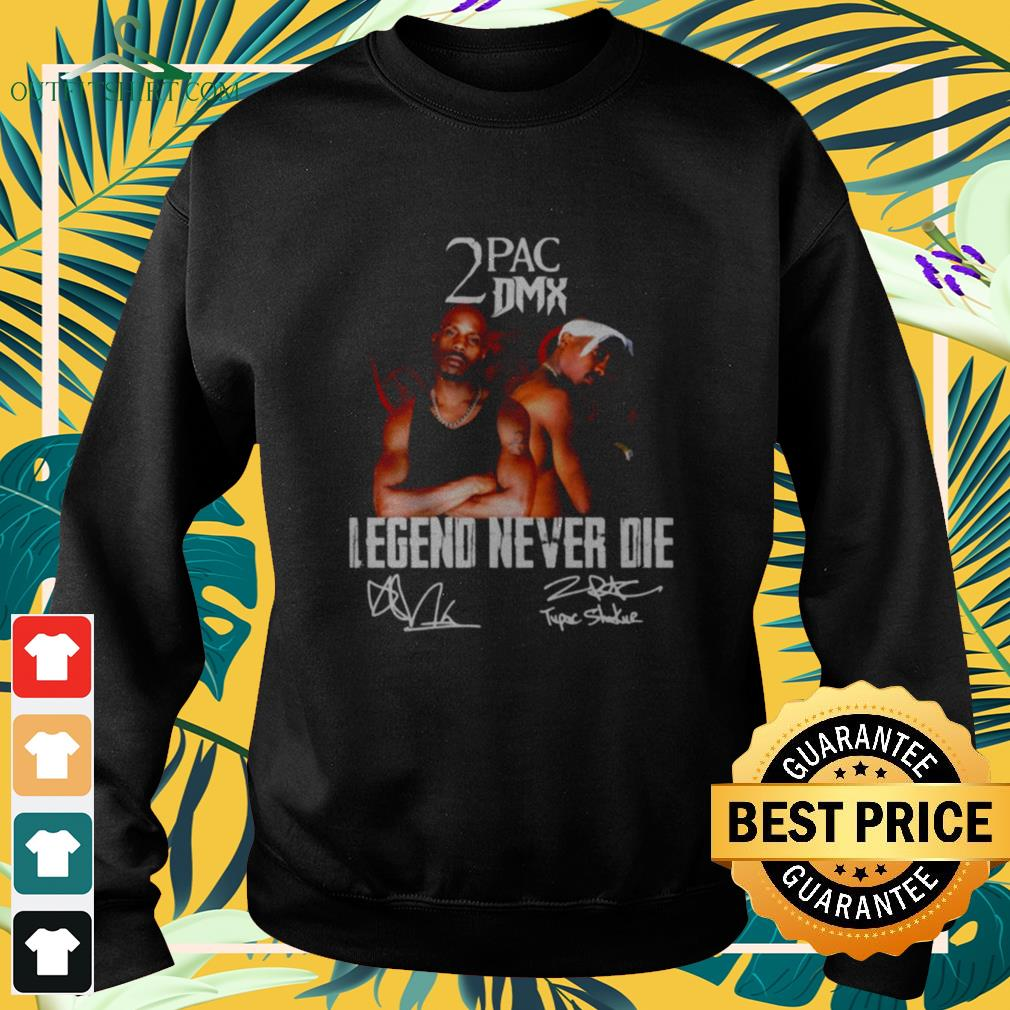 2Pac And DMX Legend never die signature Sweater