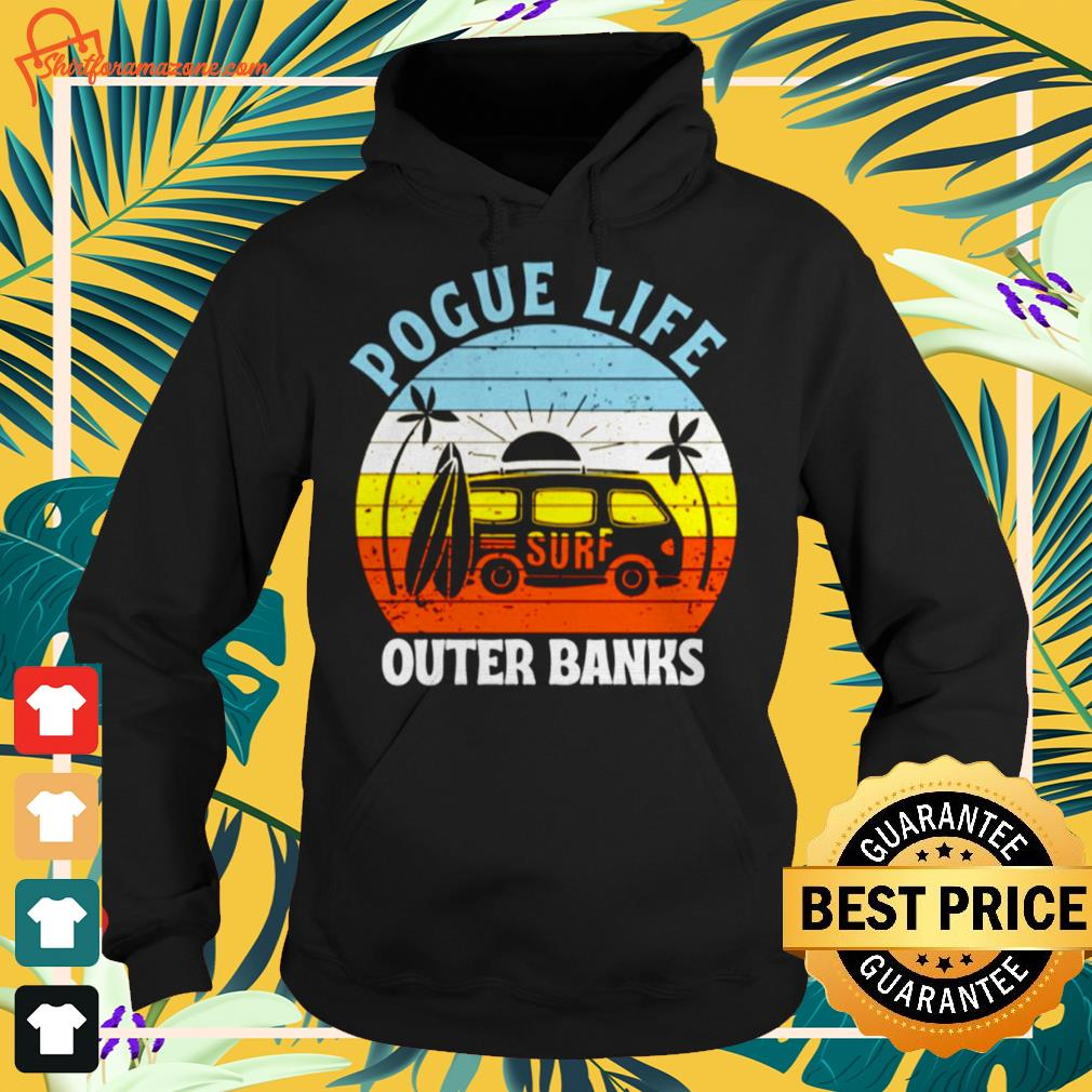 Car pogue life outer banks Hoodie
