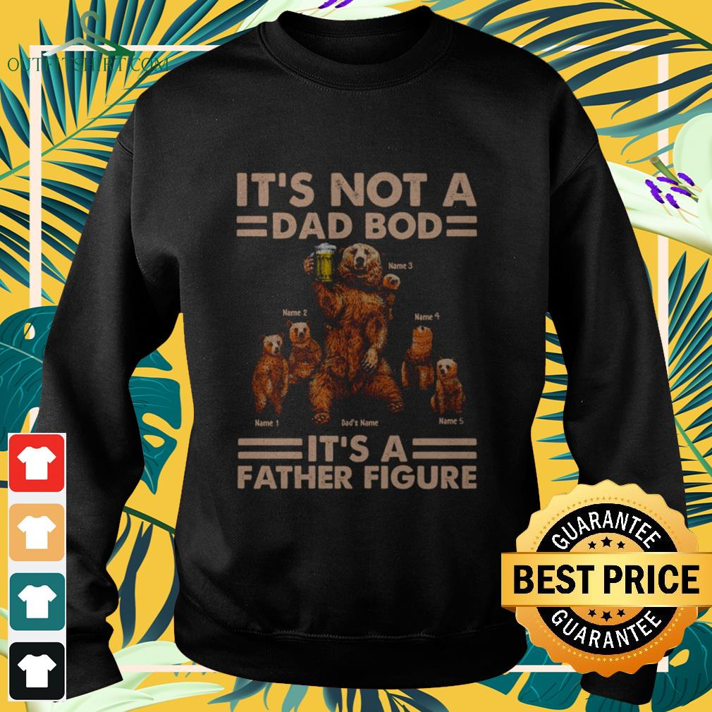 Daddy bear it's not a dad bod it's a father figure Sweater