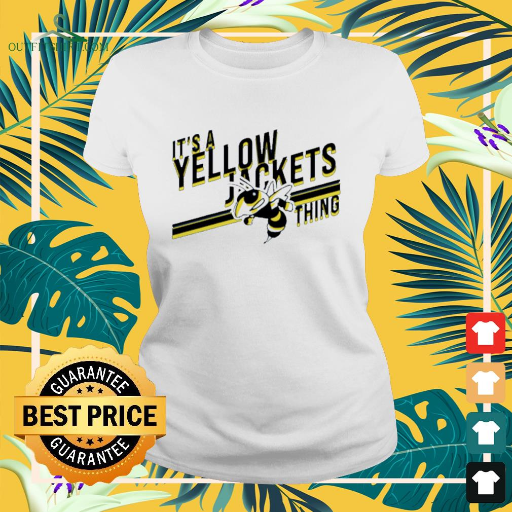 It's a yellow jackets thing Ladies-tee