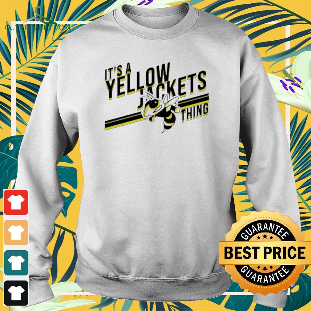 It's a yellow jackets thing Sweater