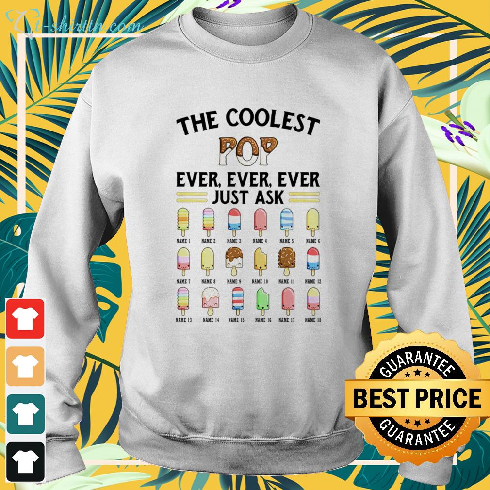 The coolest pop ever, ever, ever just ask icecream sweater