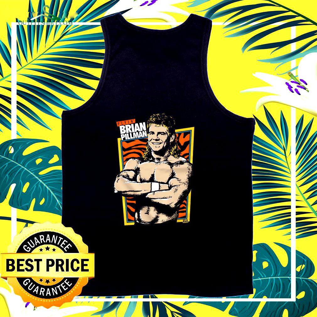 Brian Pillman and Dark side of the Ring Flyin' Brian tank top