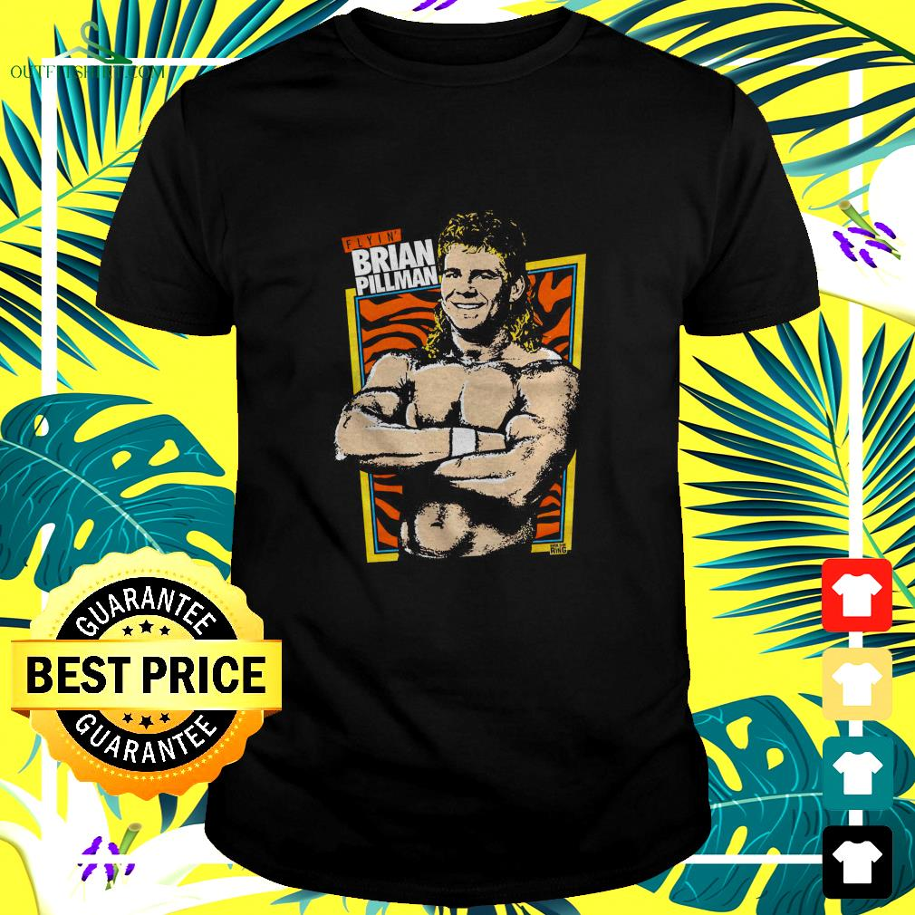 Brian Pillman and Dark side of the Ring Flyin' Brian t-shirt