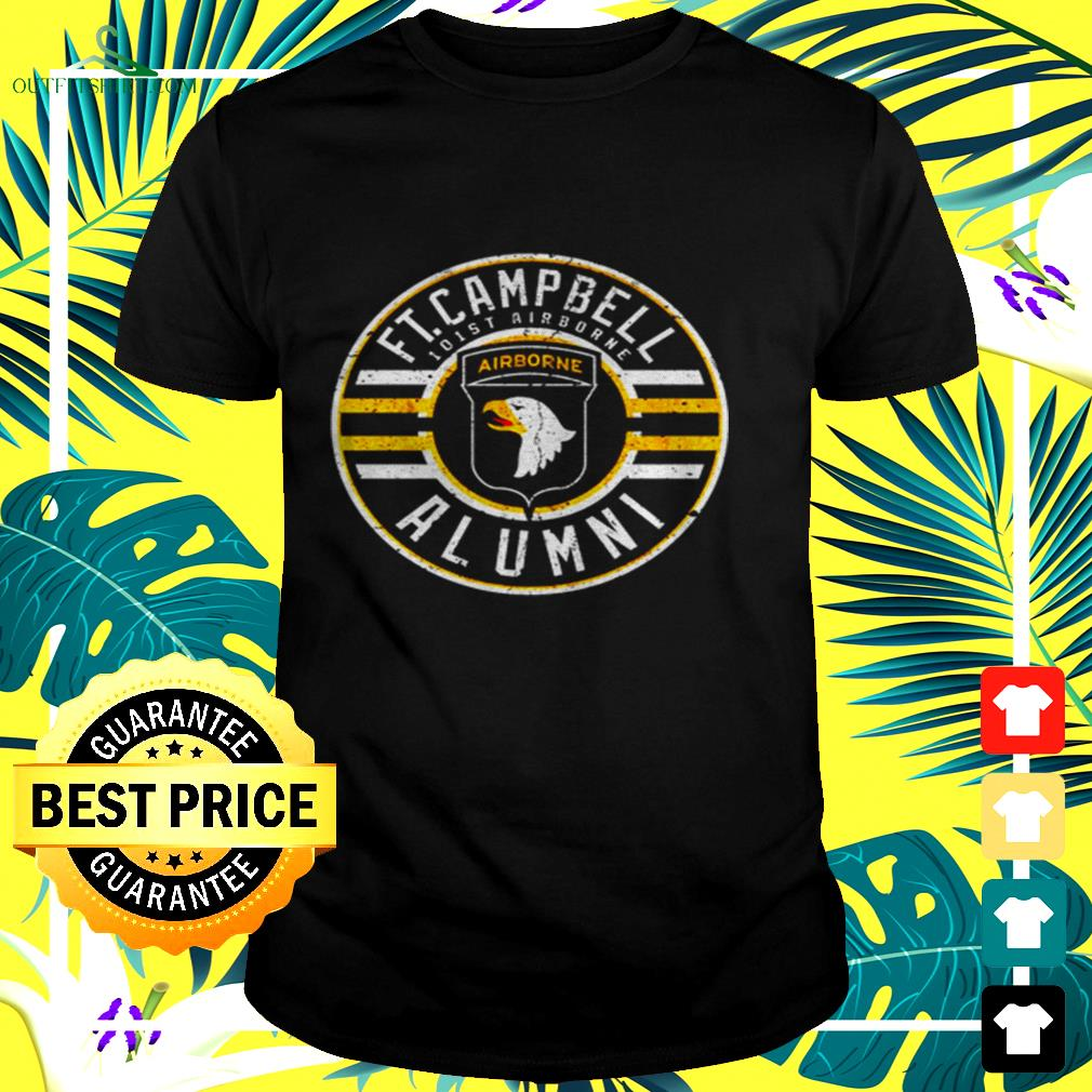 Fort campbell Alumni 101st airborne t-shirt