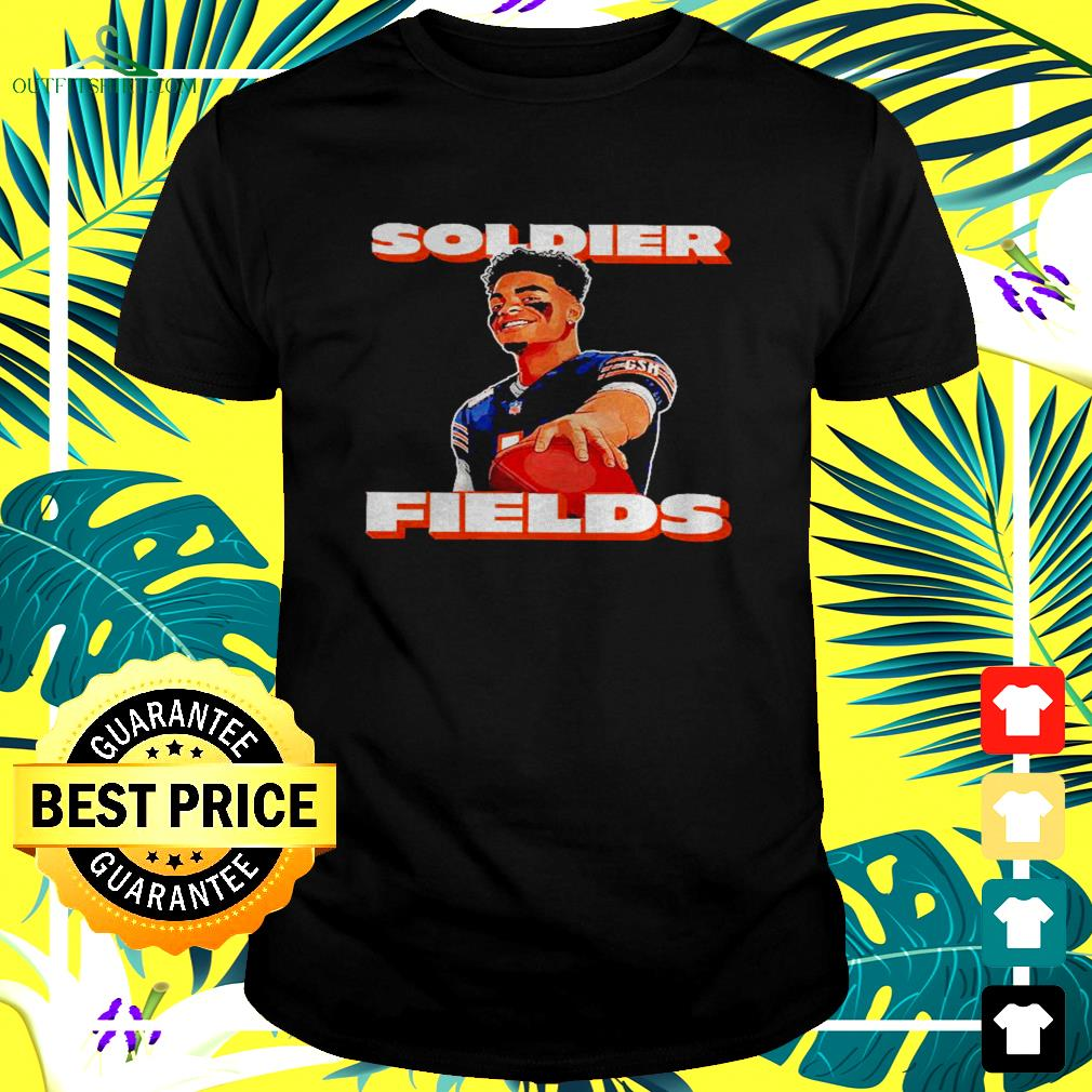 Justin Fields soldier fields t-shirt